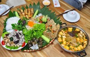 mẹt ốc - món ăn ngon Hà Nội