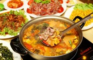 lẩu riêu cua bắp bò -món ăn ngon hà nội